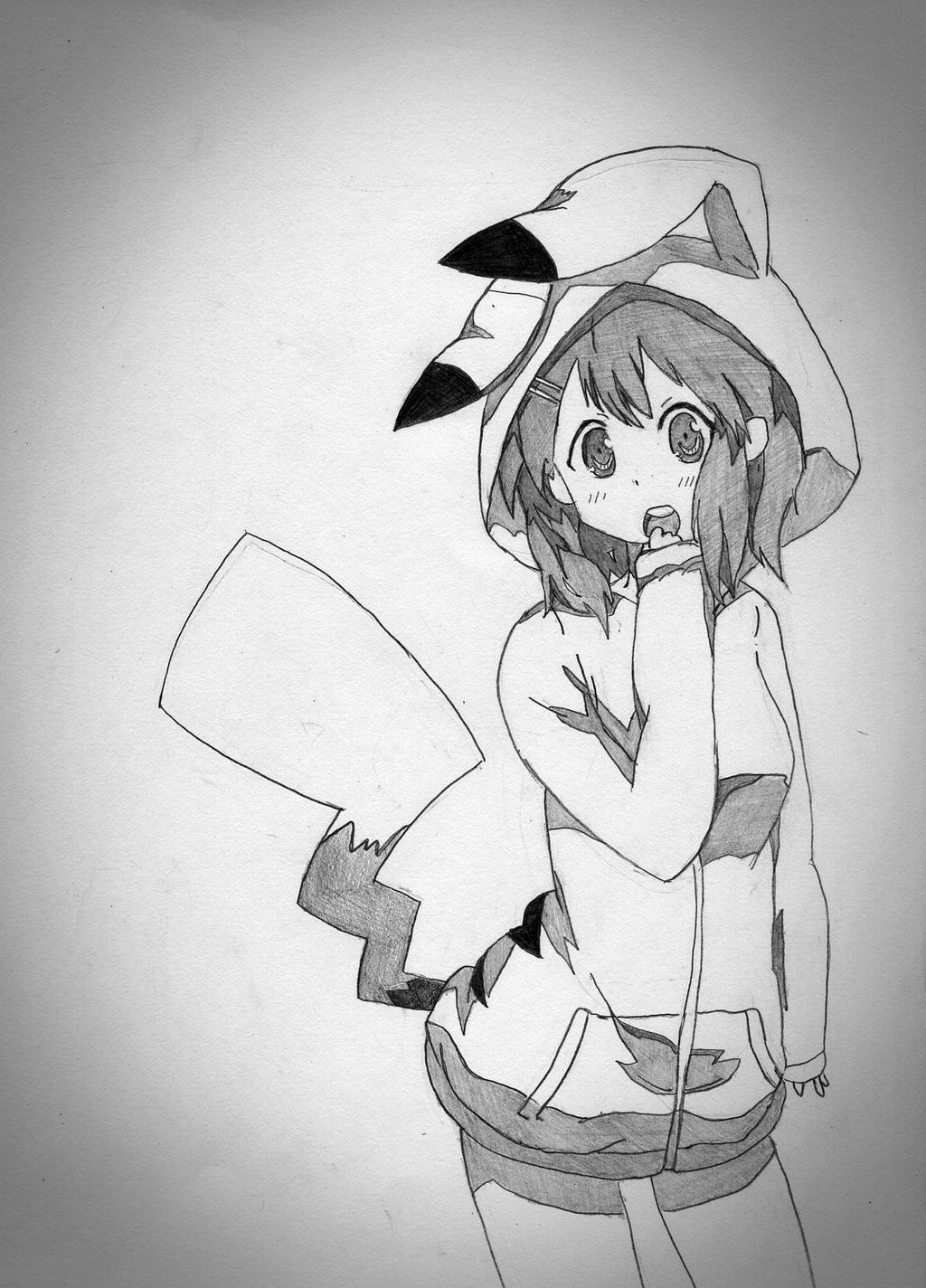 Line Art Hirasawa Yui : Yui hirasawa by betasix on deviantart