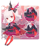 VAMPIRE CHIBI ADOPTABLE [AUCTION OPEN]
