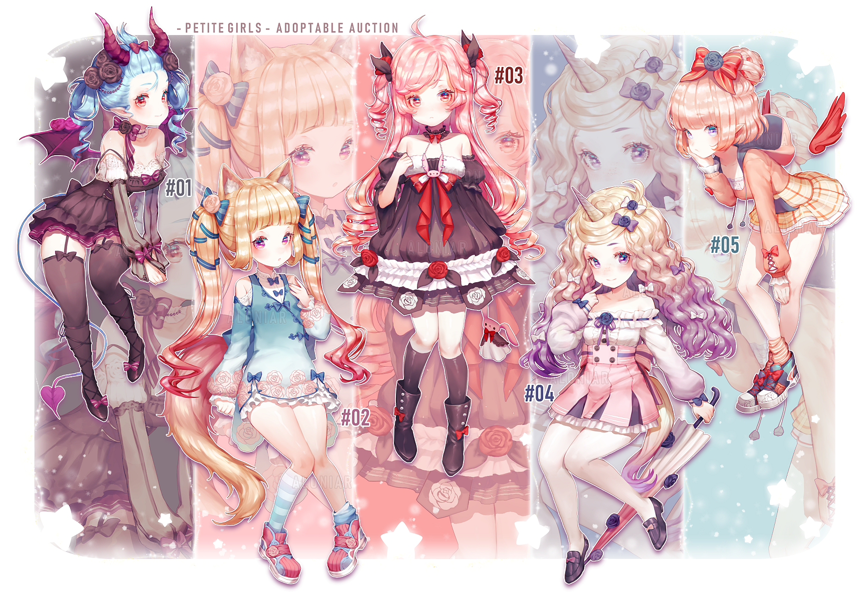 Petite Girls Adoptables [1/5Auction OPEN]