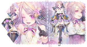 LILAC GODDESS ADOPTABLE [CLOSED]