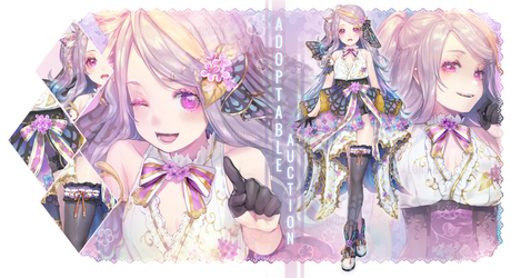 [AB ADDED] LILAC GODDESS ADOPTABLE [AUCTION OPEN] by AloNiar