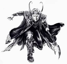 Loki by dragonchickenmonster