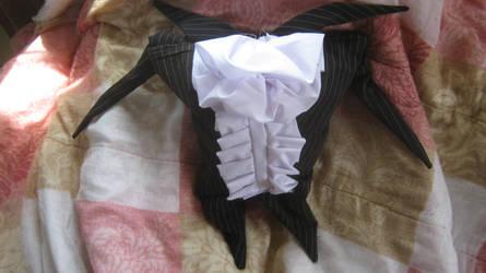 Fancy Jack Pillow by dragonchickenmonster
