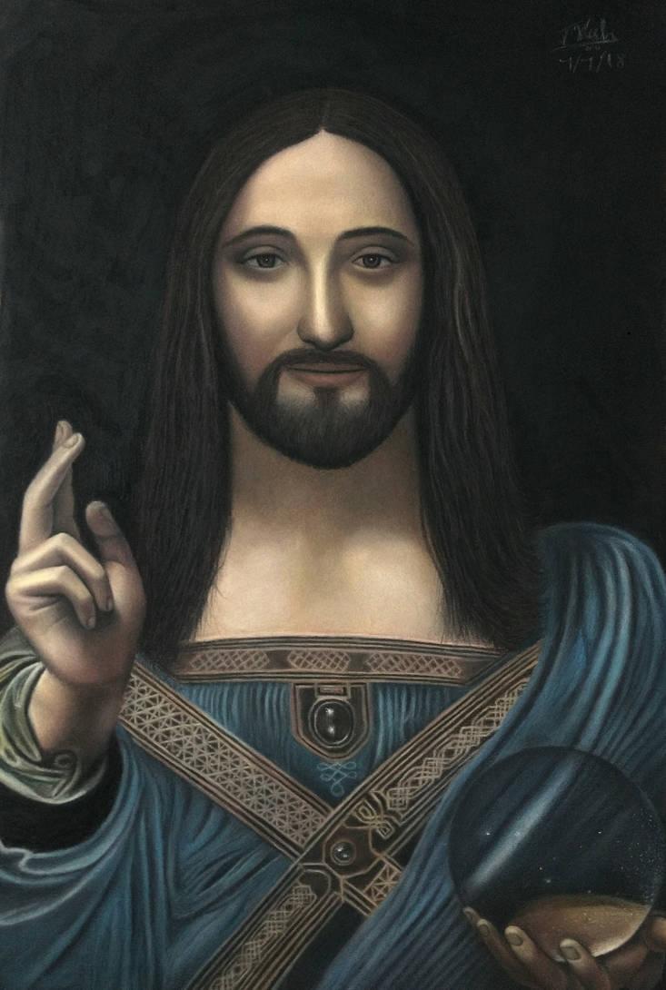Jesus - the savior of the world by Vishvesh99