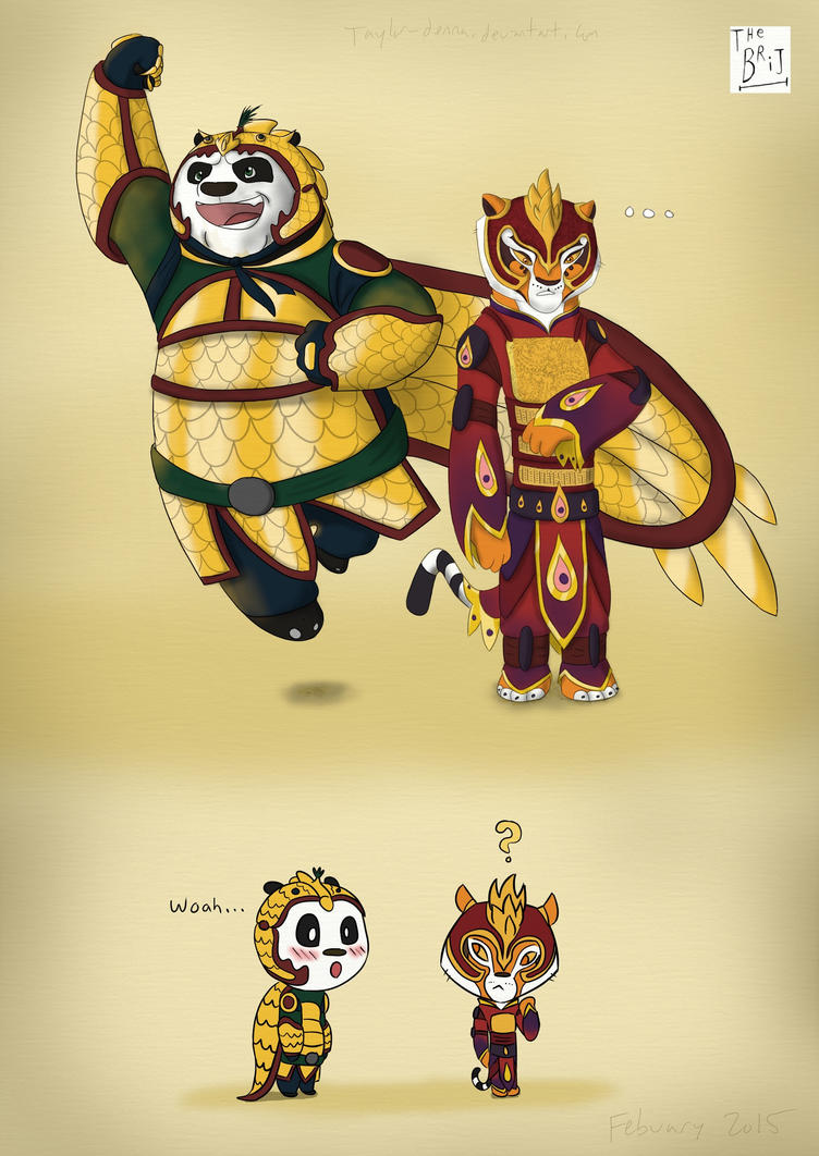 Po and Tigress by TiPophotorequester on DeviantArt