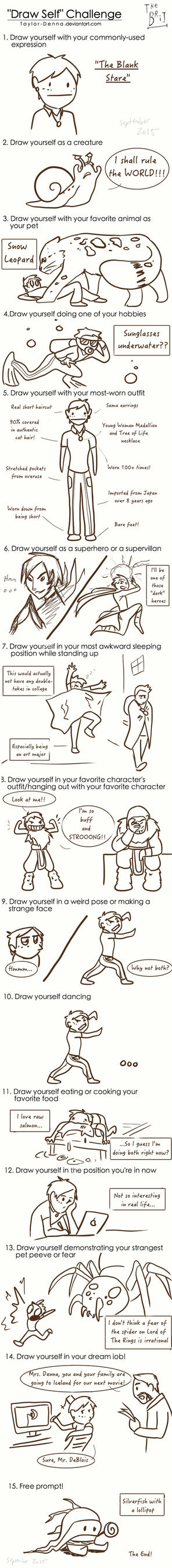 Draw Self Challenge by Taylor-Denna