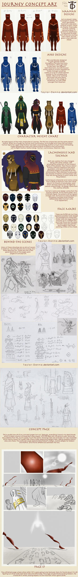 Journey Story Concept art by Taylor-Denna