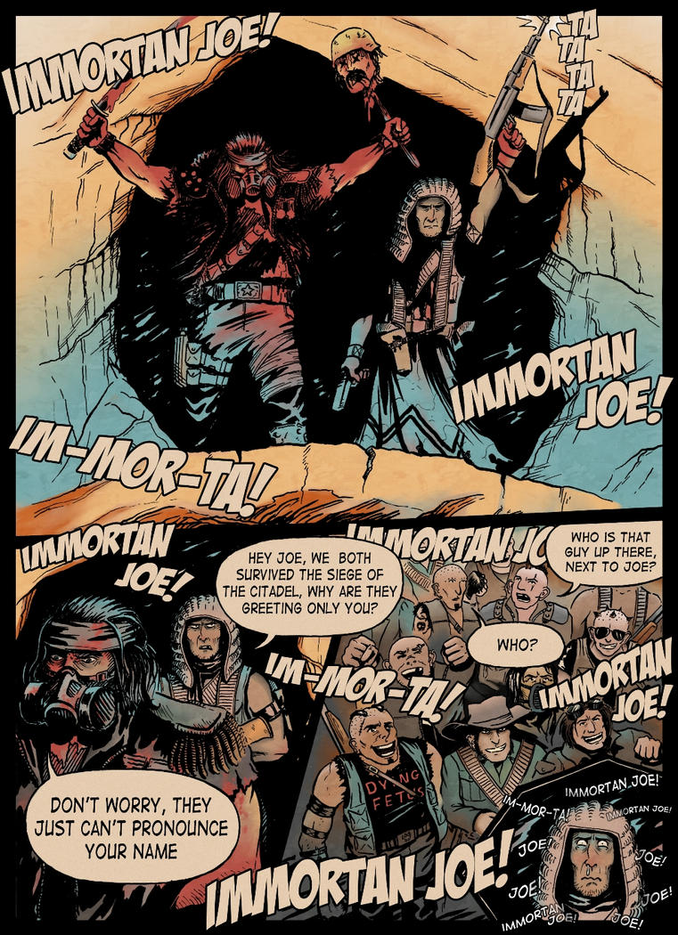There Can Be Only One Immortan by Panda-With-Oar