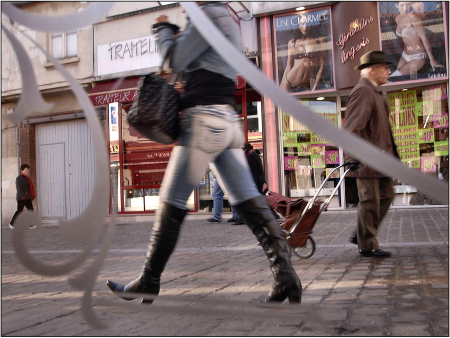 Boots in Paris 6 by SUDOR