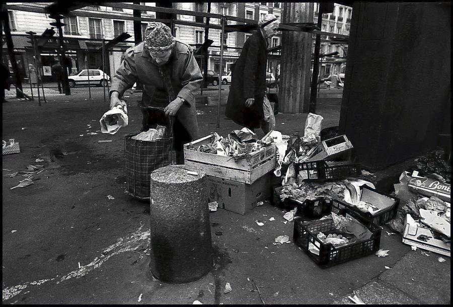 Poverty in Paris in 1993 by SUDOR