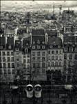 Paris under the rain