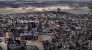Paris in the rain - 2 by SUDOR