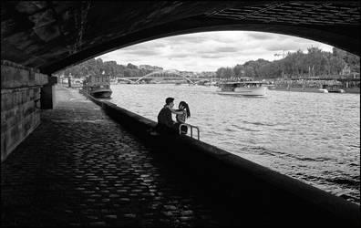 Lovers in Paris by SUDOR
