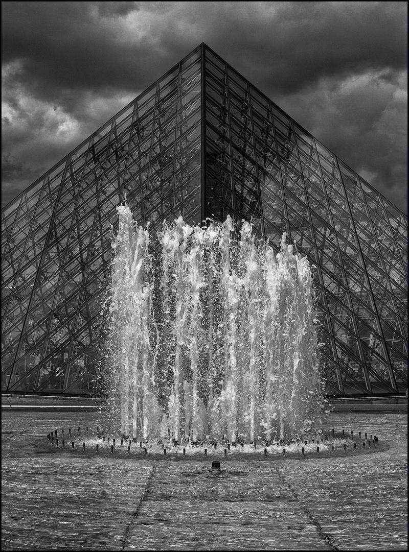 Pyramide du louvre 2 by sudor on deviantart - Pyramide du louvre inauguration ...