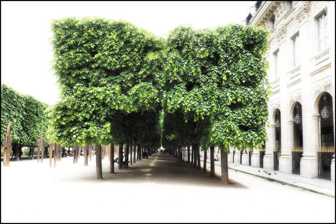 Jardin du palais royal by sudor on deviantart for Jardin royal