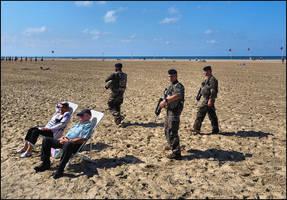 Deauville Beach by SUDOR
