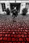 Bloody cobblestones