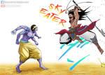 Shiva vs Lubu | Shuumatsu no Valkyrie
