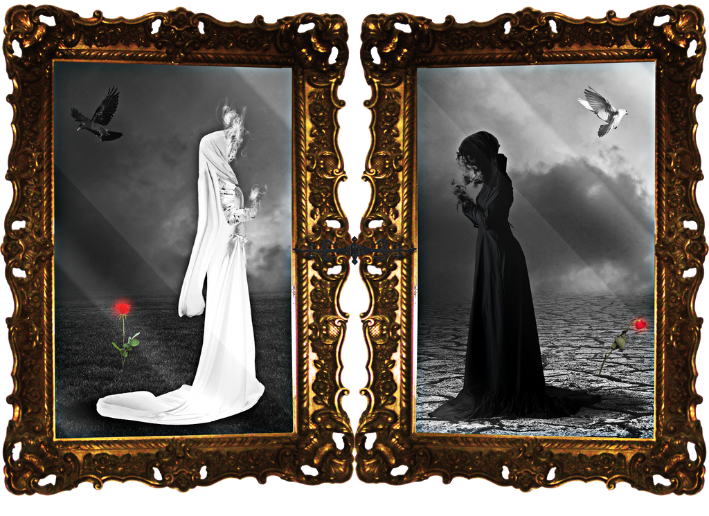 Life and Death Diptych