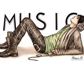 Adam Lambert 3 by Mella-M91