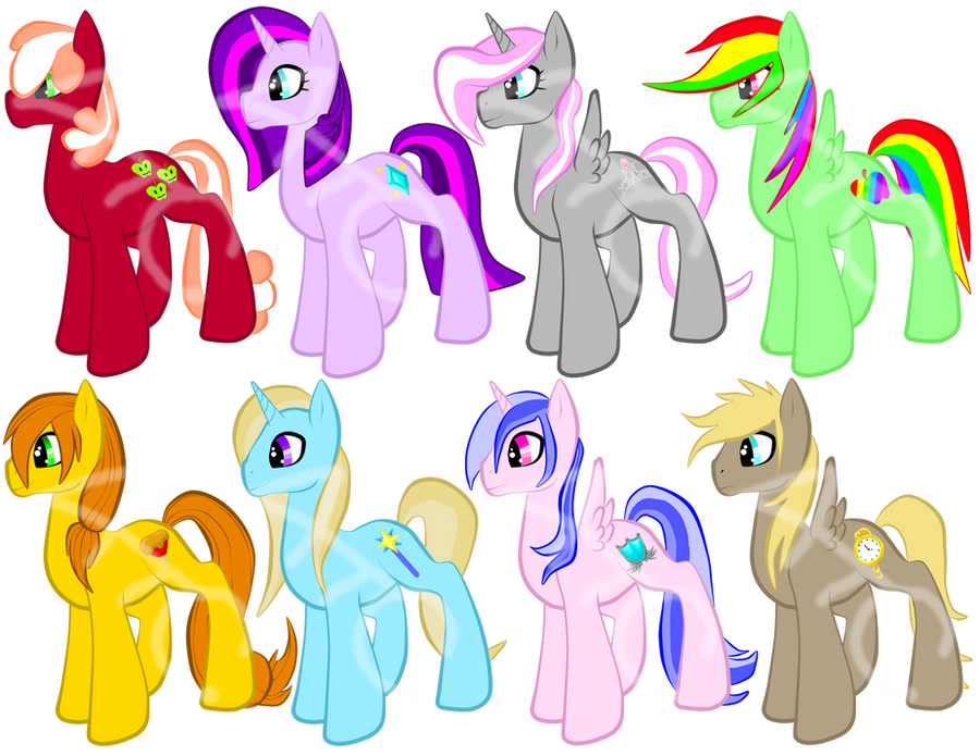 Boy Mlp Hairstyles: MLP Shipping Foals CLOSED By ACPAdoptables On DeviantArt