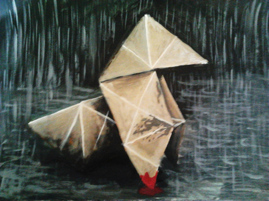 origami heavy rain by madschquee on deviantart