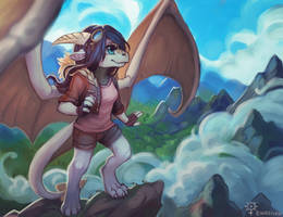 Mountain trip by Ewreilyn
