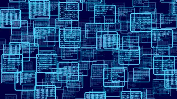 Lyoko Binary Wallpaper