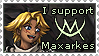 Stamp - I support Maxarkes by Hedrick-CS