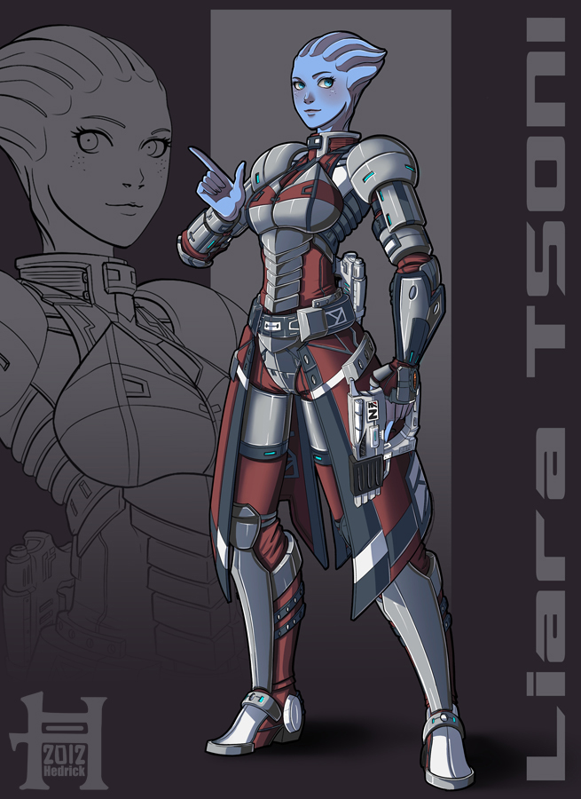 ME3 - Liara Tsoni Alternate Outfit by Hedrick-CS