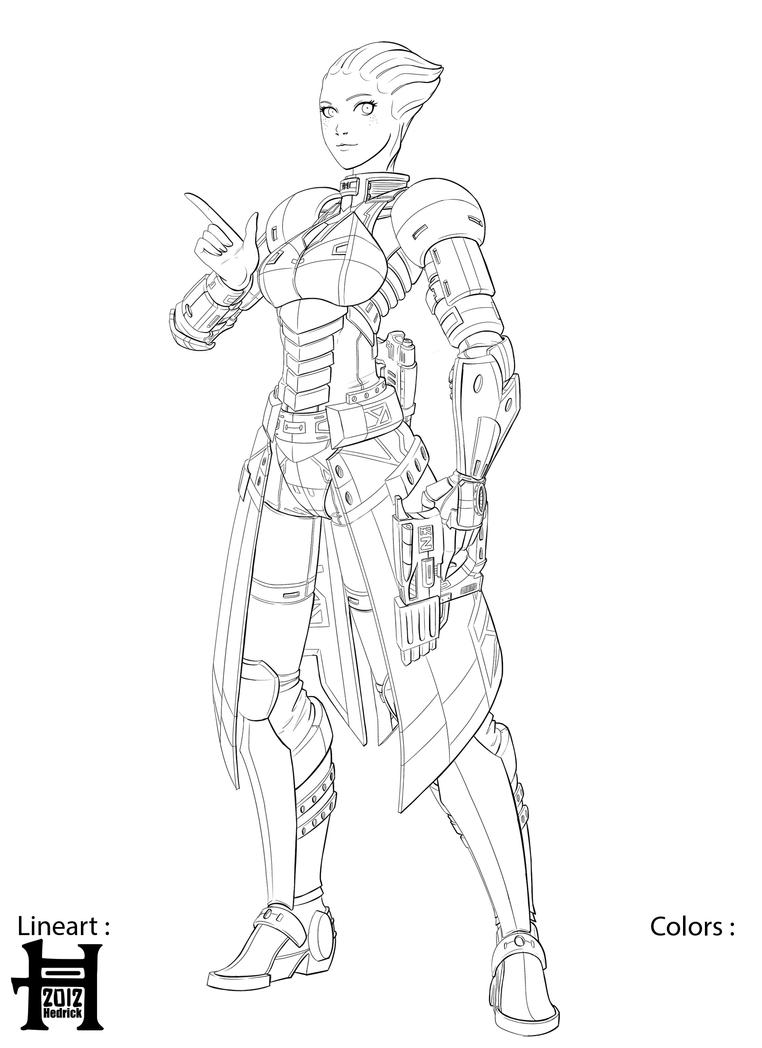 mass effect 3 coloring pages - photo#28