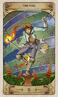 Cerebium Tarot 0 - The Fool
