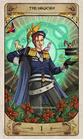 Cerebium Tarot 1 - The Magician