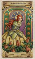 Cerebium Tarot 2 - The High Priestess