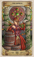 Cerebium Tarot 3 - The Empress