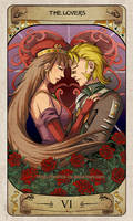 Cerebium Tarot 6 - The Lovers