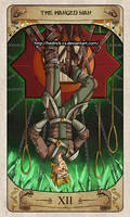 Cerebium Tarot 12 - The Hanged Man