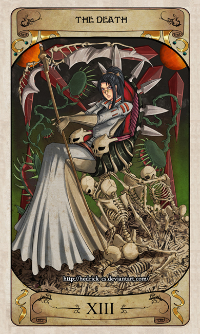 Cerebium Tarot 13 - The Death