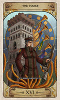 Cerebium Tarot 16 - The Tower