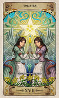Cerebium Tarot 17 - The Star