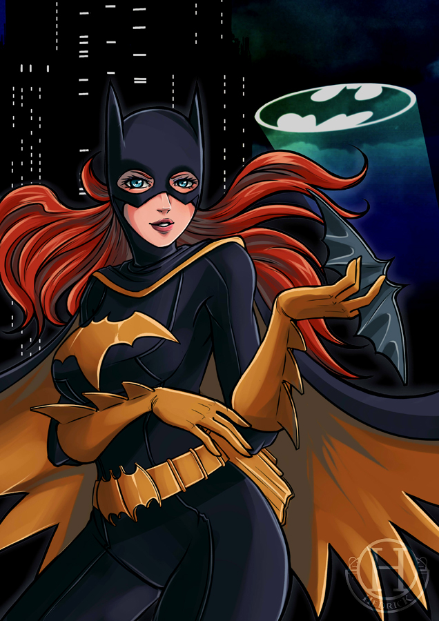 Bat-cute - Batgirl [Barbara Gordon] by Hedrick-CS