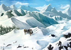 Commission + Journey through the Frost Tongue by Hedrick-CS