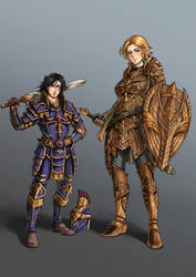 Commission - Alrius and Cysael