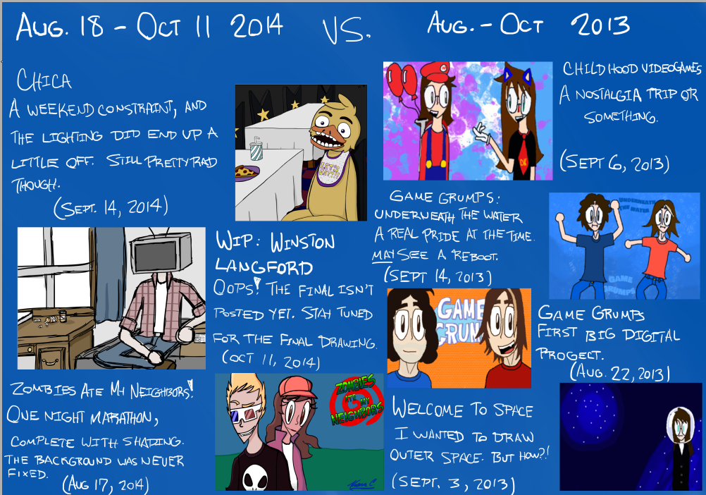 2014 VS 2013 by extreme810