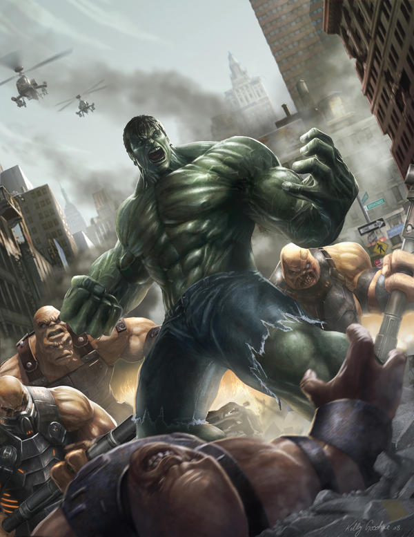 Hulk cover by KEGO44