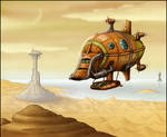 The Storm Crow -Pirate Airship-