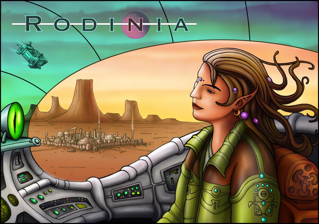 A Science Fiction Fantasy World by farawayforest