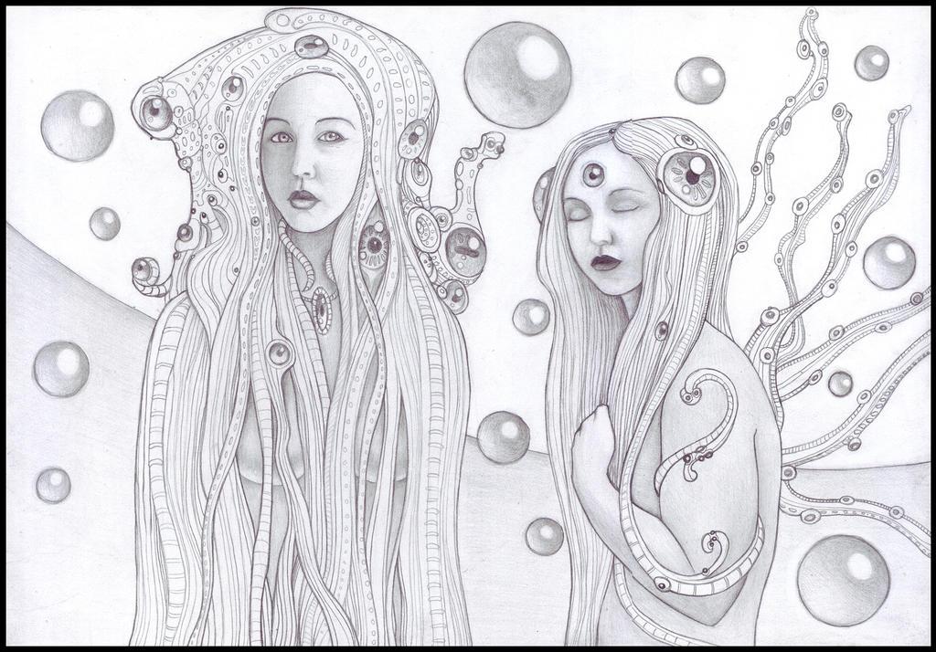 Chelsea Mermaids by farawayforest