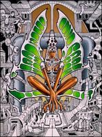 The Goddess of Machines by farawayforest