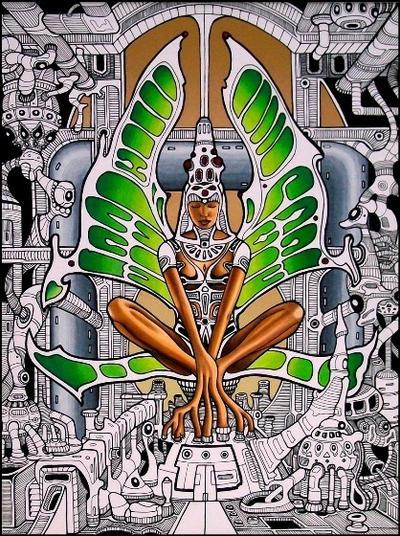 The Goddess of Machines